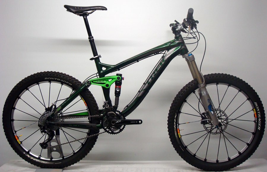 TREK REMEDY 9 26`` CUSTOMAUFBAU