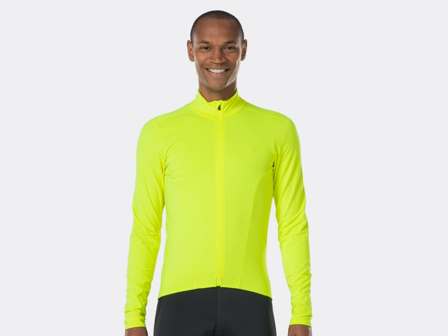 Bontrager Trikot Velocis Thermal LS XS Visibility Yellow